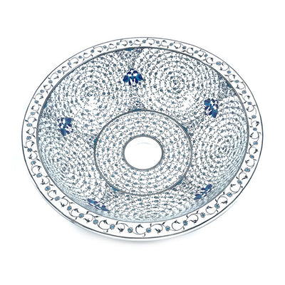 Turkish Ceramic Sink Golden Horn Design