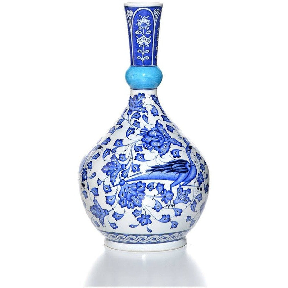 Vase - Iznik Vase | Animal Decorations
