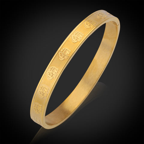 New Item Cute Elephant Cuff Bracelets & Bangles For Women Gold Color Fashion Bracelet Jewelry Wholesale GH329K