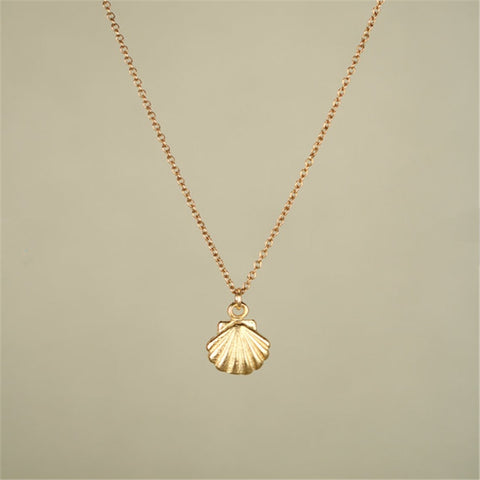 2016 New Fashion 11.11 Big Sale Seashell Necklace Sea Shell Necklace For women For outdoor Party for Ocean Beach Party