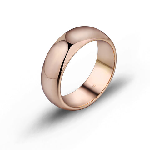 Gold-Color Wedding Rings Mens Women Engagement Ring Anel Fashion Jewelry Casamento Jewellery shipping R18K-31