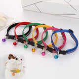 Glossy Reflective Collar Safety with Bell Strap in 6 Colors