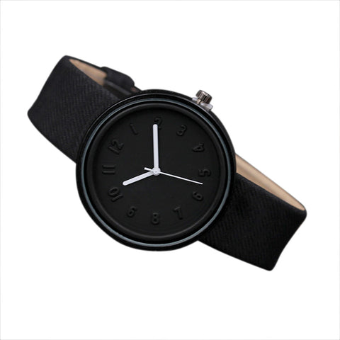 Candy color Fashion Numer simple watches women's quartz wristwatches women casual Black children's watch ladies wrist watch #XTN