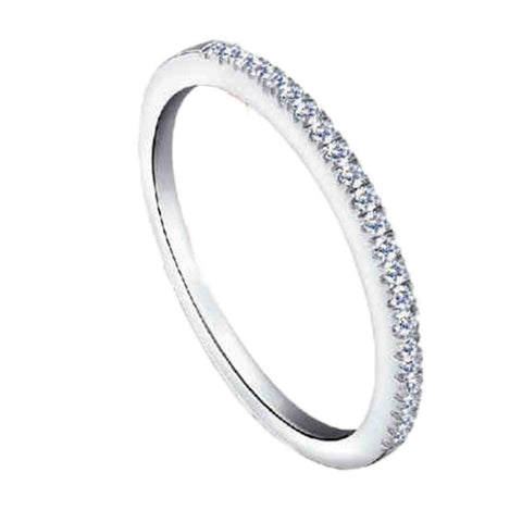 Wedding Party Band Silver Color CZ Jewelry Love Rings for Women Bague Zircon Aneis de Prata Anillos