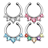 new arrival Hot sale nose ring piercing nose rings piercing nose body jewelry percing nez