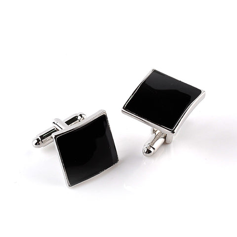 Men's cuff links arm buttons for shirts Simple luxury business lawyer cufflinks gemelos on wedding Marriage place mark gifts
