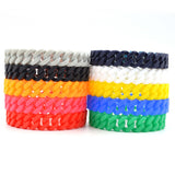 New Hot Uni Silicone Rubber Chain Bracelets Bangles Charm Suff Fashion Bracelet Women Men Jewelry