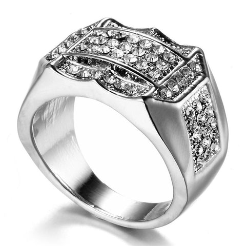 Men Fashion Ring (Gold & Silver)