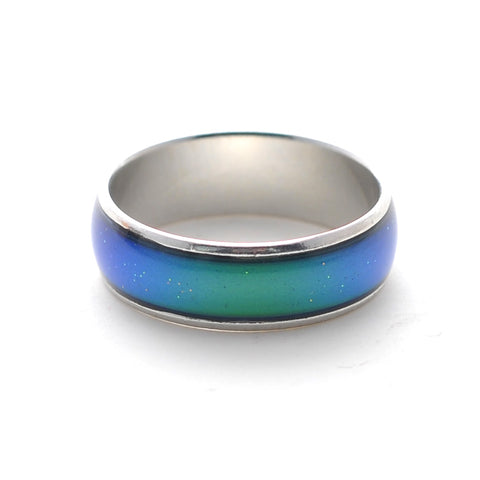 Hot Sale Fashion Jewelry Mood Rings Classic Temperature Change Color Mood Ring New ping