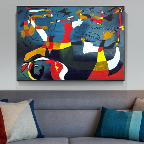 Picasso Famous Abstract Oil Painting Home Decoration Big Picture HD Canvas Painting Art Wall Pictures For Living Room Posters