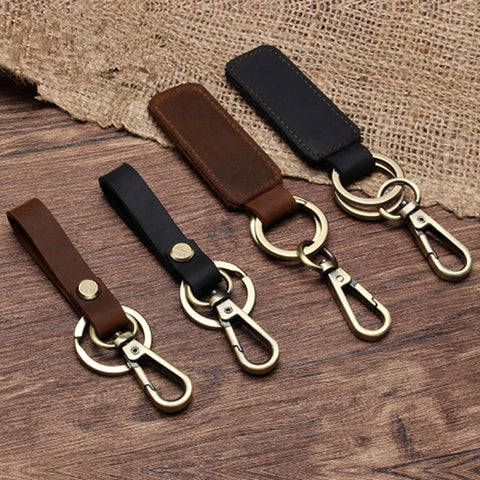 KEY CHAIN & LEATHER Belt Loop Key Holder