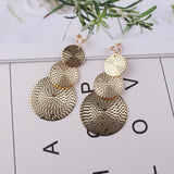 JIOFREE Long gold Silver Clip on Earrings For Women Vintage Earrings Without for Girls Kid Party Ear Clip
