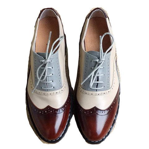 Brogue Shoes For Woman