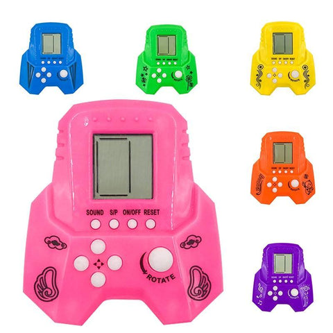 Tetris Hand Electronic LCD Toys Fun Game Brick Puzzle Puzzle Handheld Game Console
