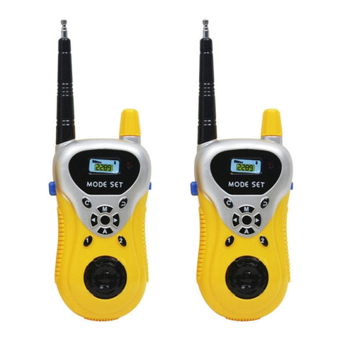 2 Pcs/pack Kids Toys Mini Walkie Talkie Portable Wireless Call Electronic Gadgets Parents Children Interactive Outdoor Fun Toys