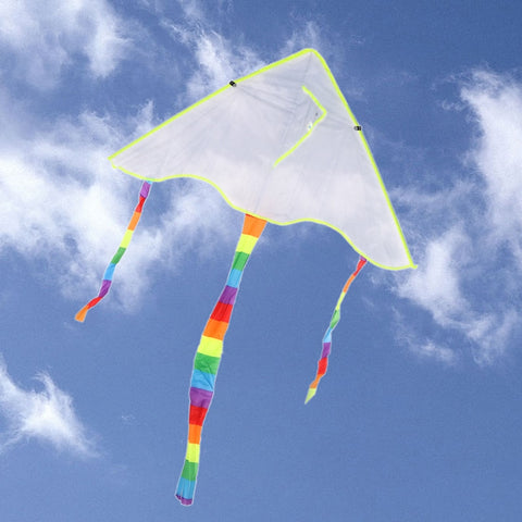1PC New diy Painting Kite Foldable Outdoor Beach Kite Children Kids Sport Funny Toys Colorful Kite Flying Toys for Children