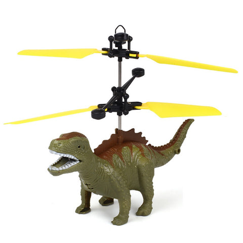 Hand Flying Dinosaur LED Mini Induction Suspension RC Aircraft Flying Toy Drone