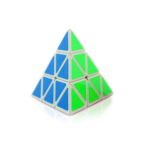 10cm Cubo Magico Triangle Pyramid Magic Cube Puzzle Cubes Twist 3x3 Cubo Square Puzzle Gifts Educational Toys for Children