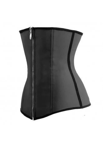 Black Latex Training Corset