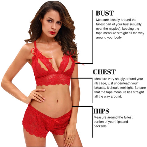 pleasuresexy lingerie how to measure your bra size