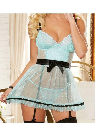 Sheer Babydoll Apron Style