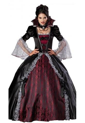 Halloween Deluxe Vampiress Costume