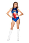 Sexy Female American Hero Costume