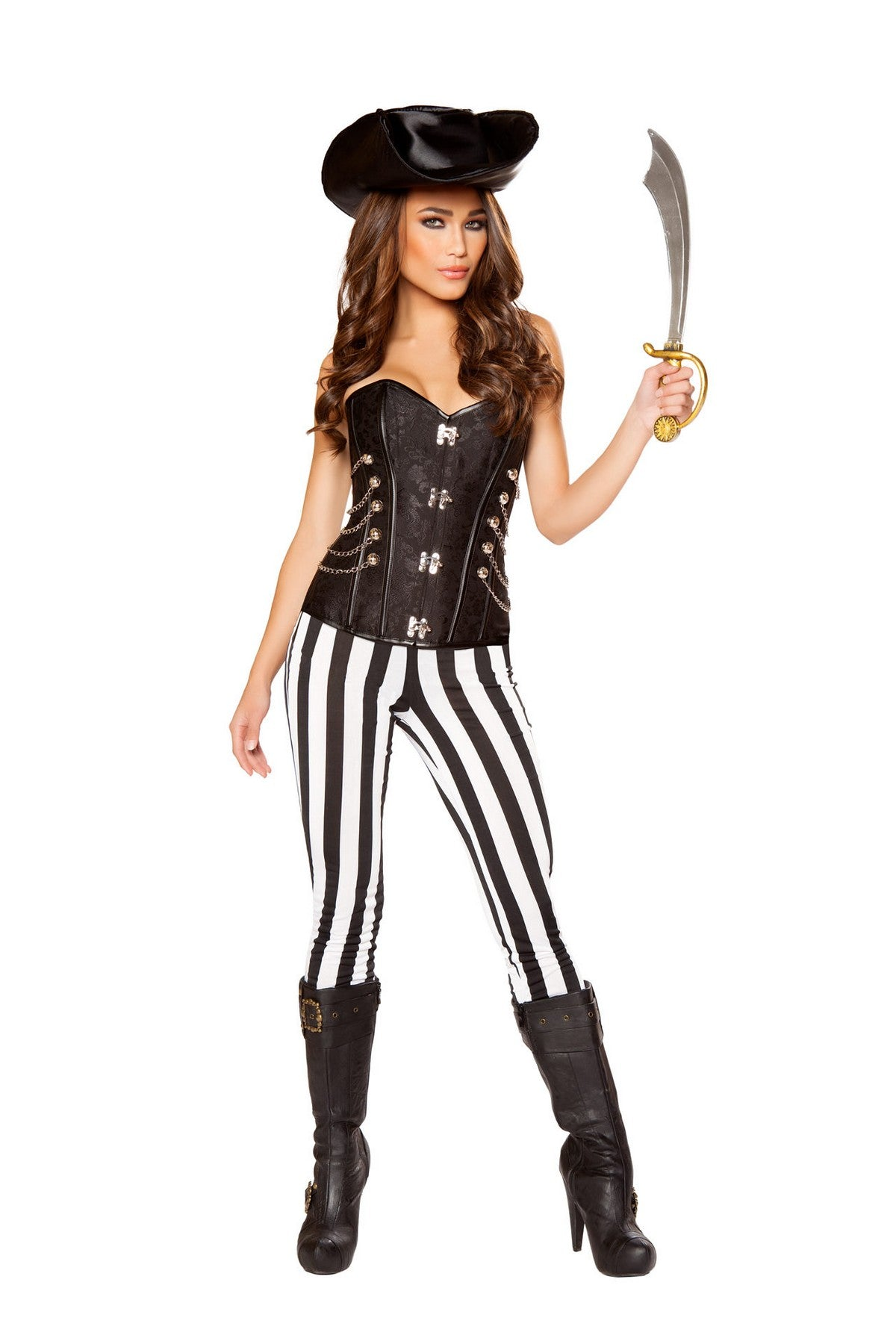Deluxe Pirate Hottie Costume Set