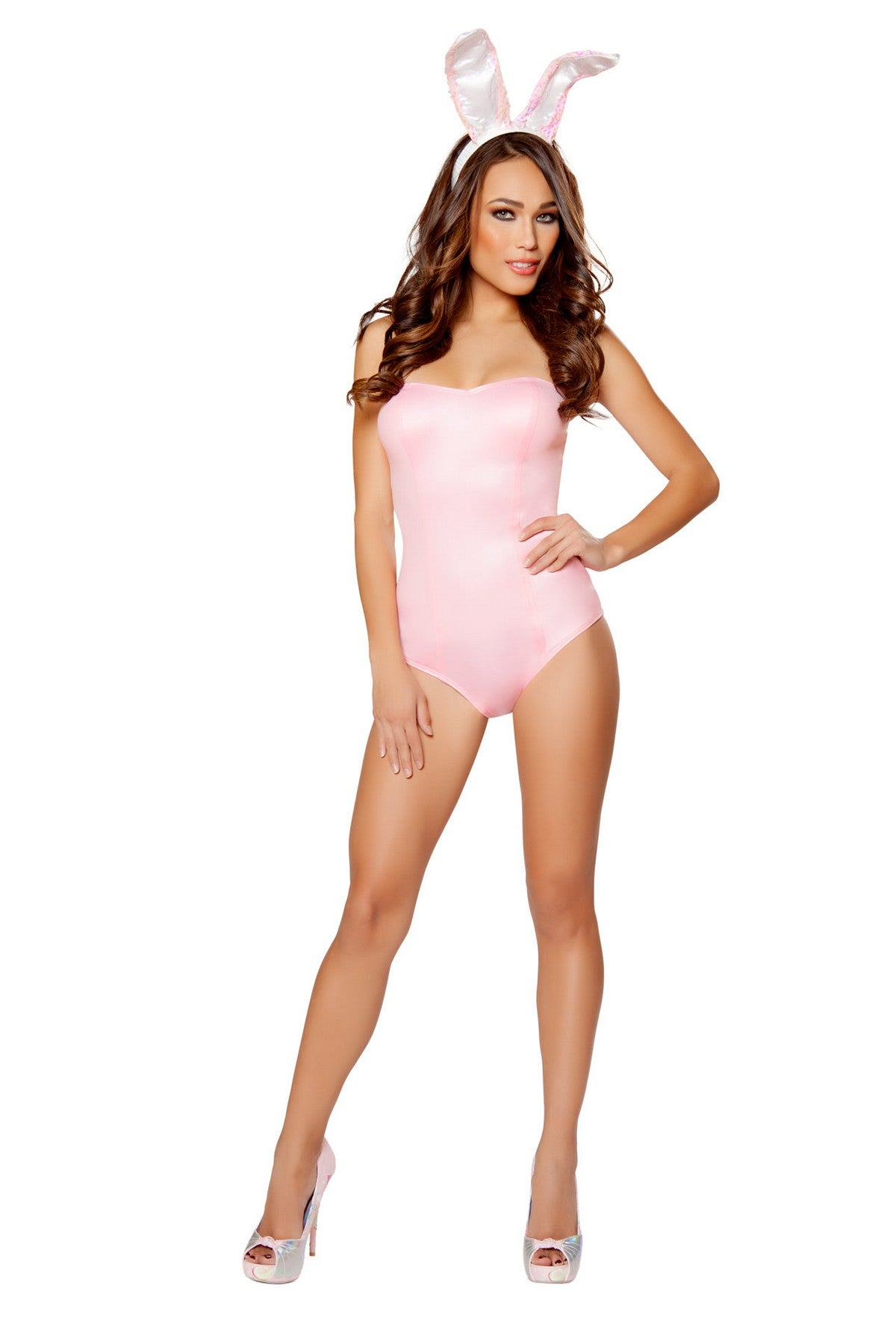 Pinky Playful Bunny Costume Set
