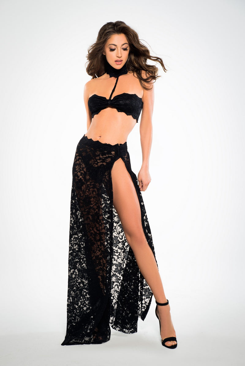 Sexy Lace Three Piece Set