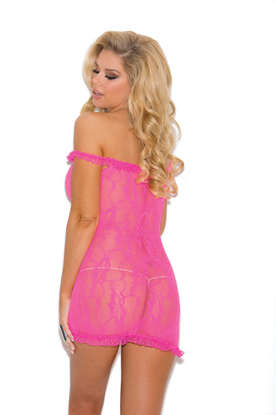 Hot Pink Chemise