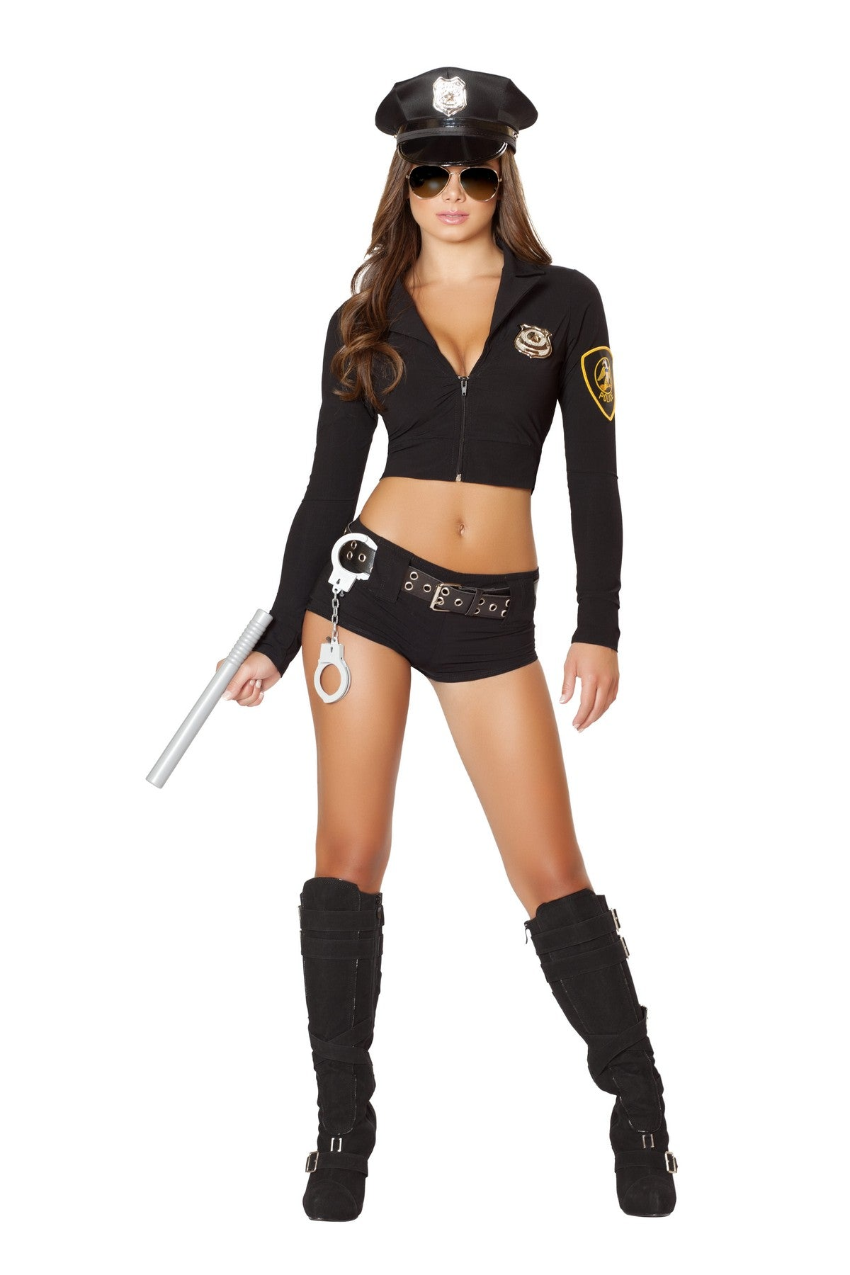 Hot Lady Officer Costume Set