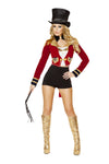 Luxurious Sexy Circus Leader Costume Set