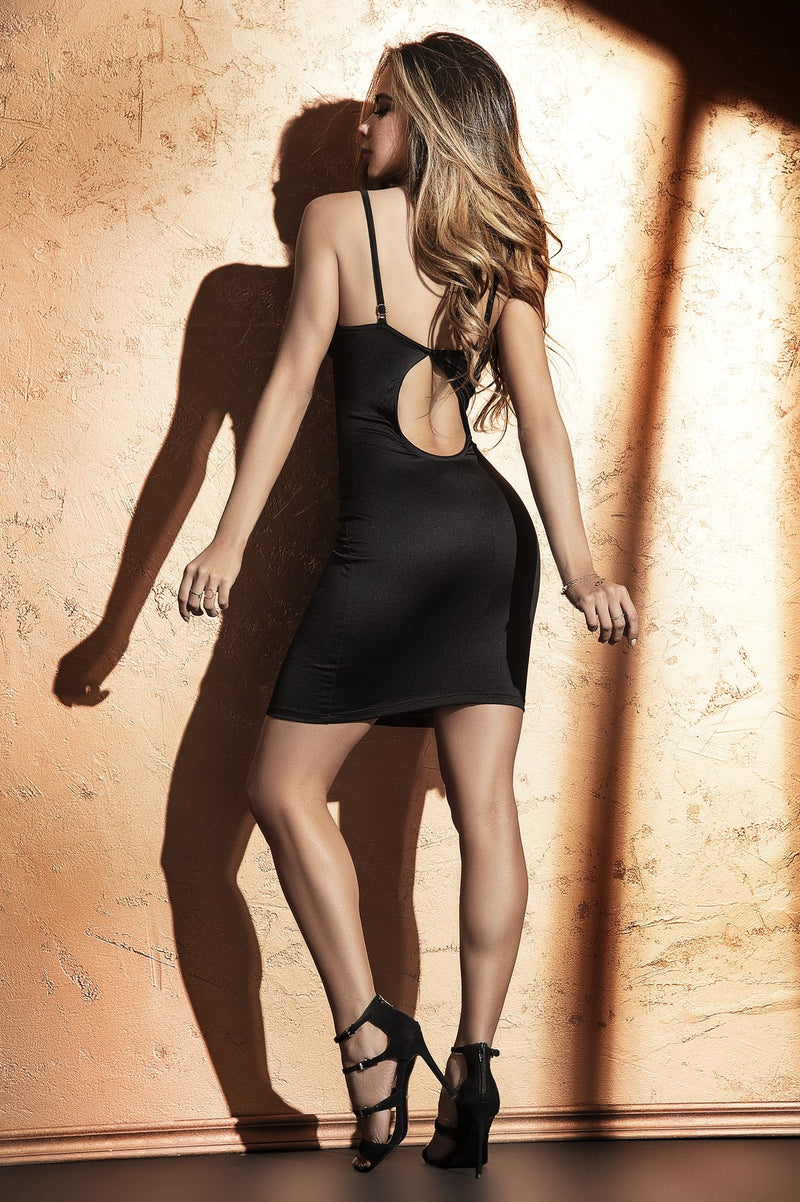 Black Underwired Clubwear Dress