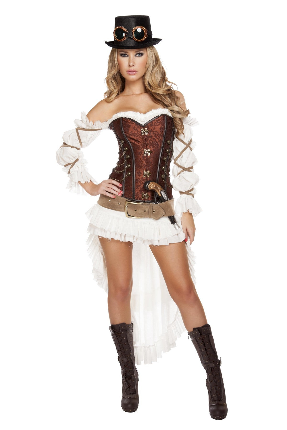 Luxury Steampunk Babe Costume Set