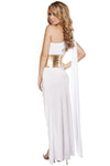 Sophisticated Greek Babe Costume Set