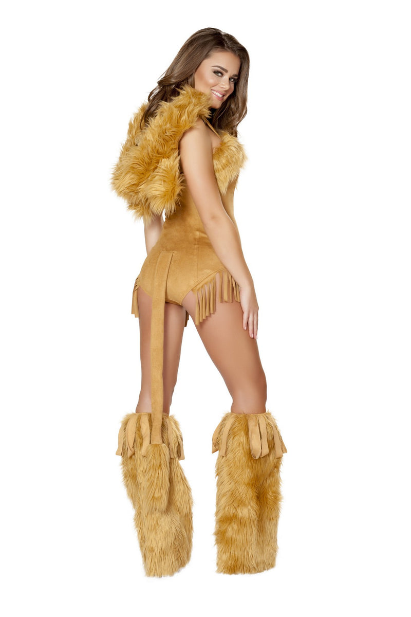 Luxury Female Lion Costume Set