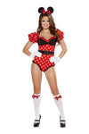 Sexy Cheeky Mouse Costume Set