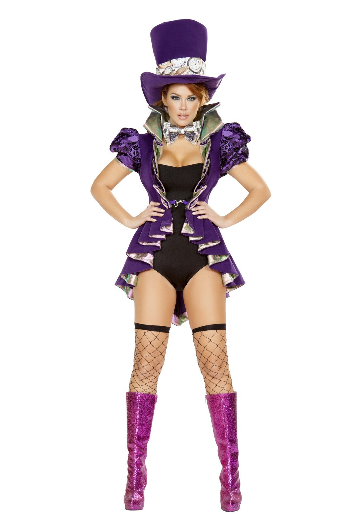 Deluxe Mad Hatter Costume Set