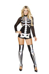 Deluxe Female Skeleton Costume Set