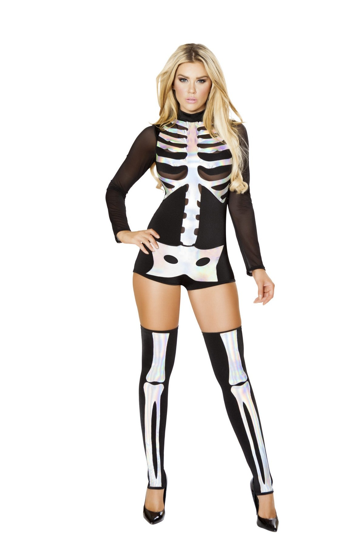 Deluxe Female Skeleton Outfit