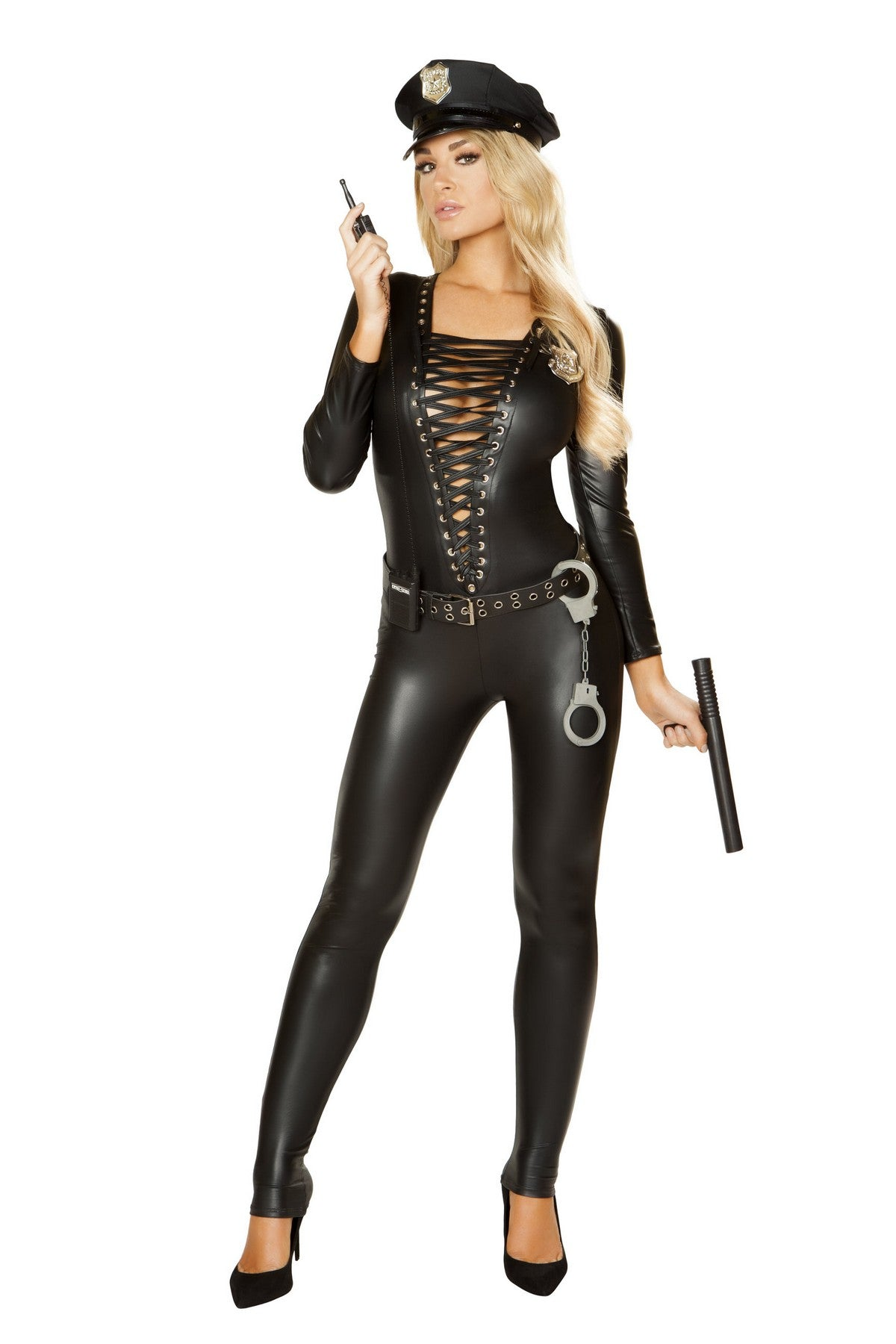 Sexy Black Multi-Purpose Catsuit Costume