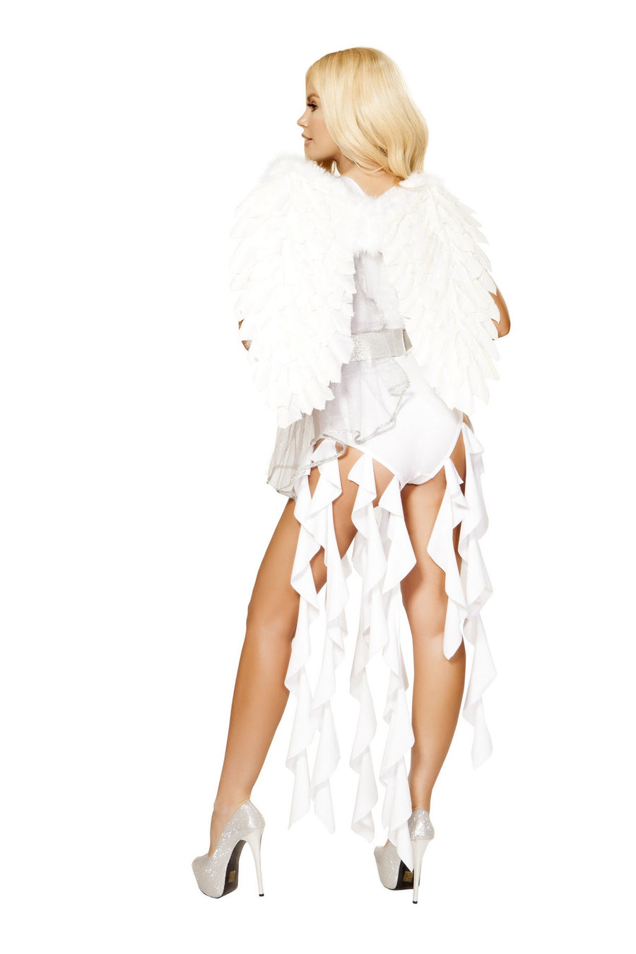 White Seductive Angel Goddess Costume