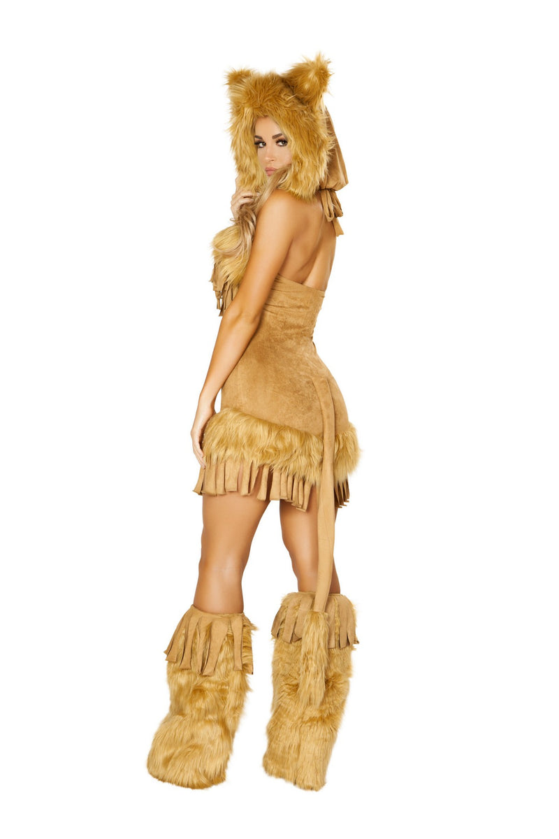 Sexy Deluxe Bashful Lion Costume Set