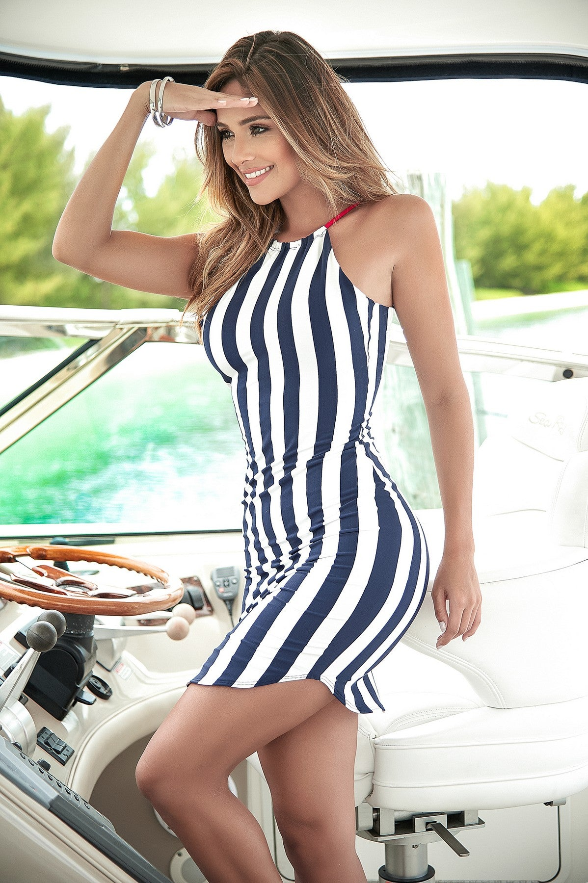 Sexy Summer Striped Dress