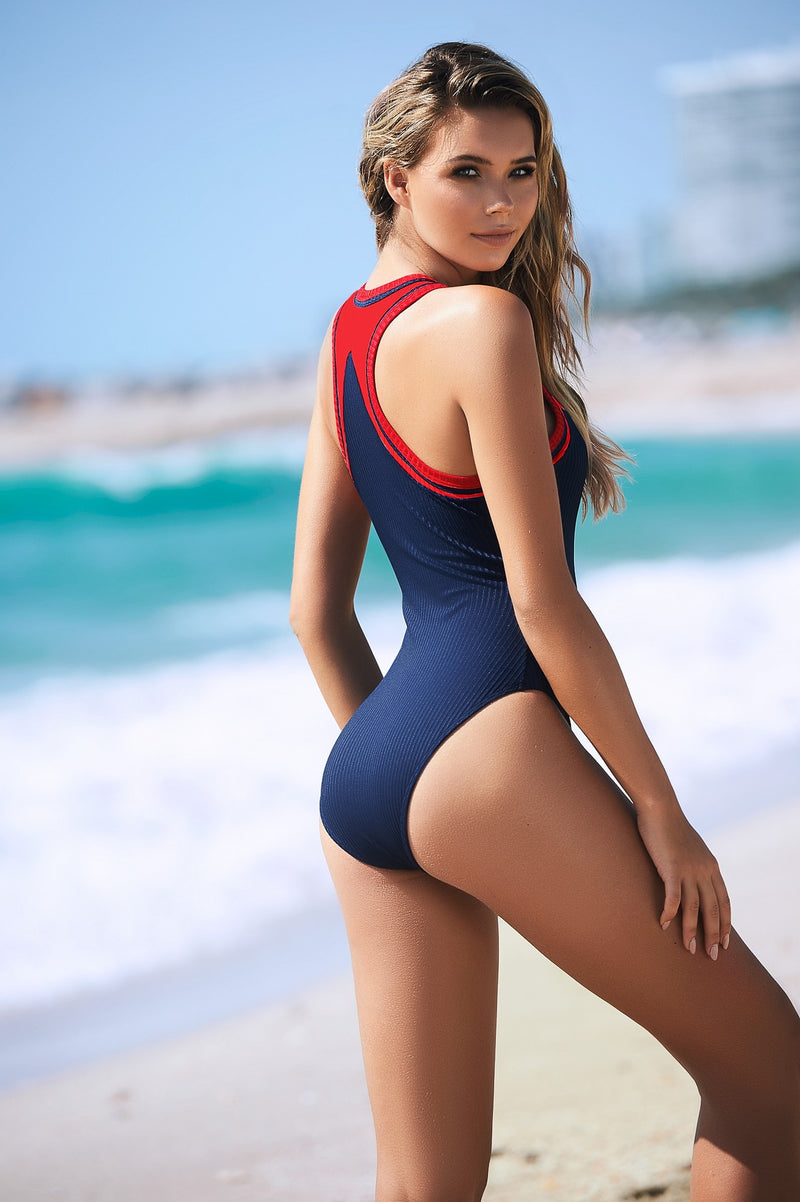 Luxury One Piece Swimsuit