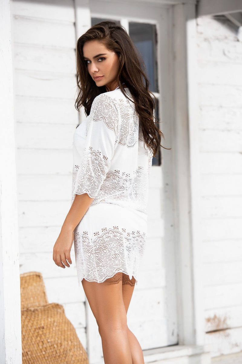 Crochet Netting Cover Up Dress