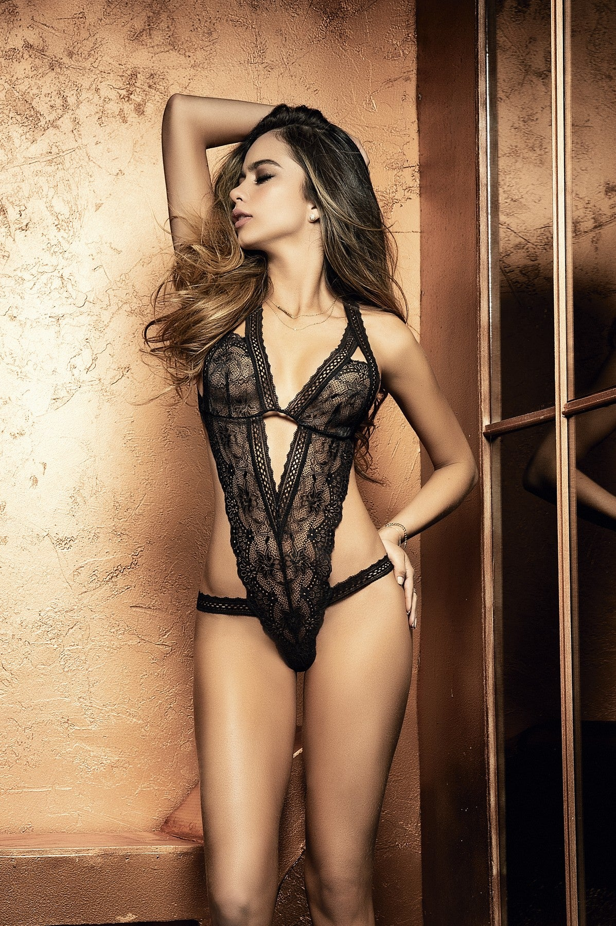 Romantic Lace Teddy Lingerie
