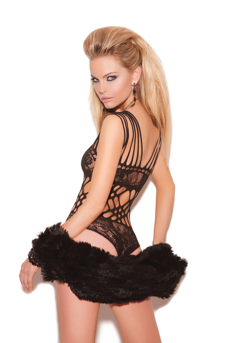 Lace Teddy Lingerie Set