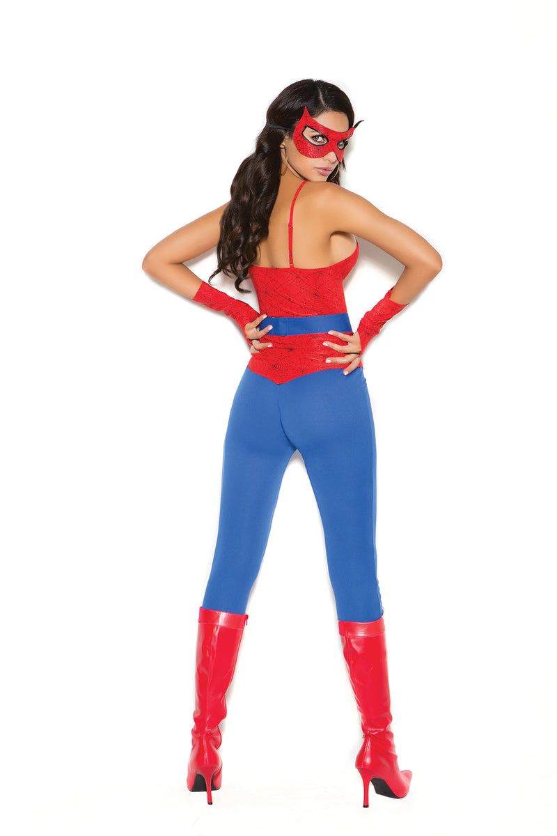 Sexy Spider Superhero Costume